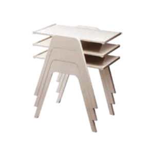 side table Vonny bianco