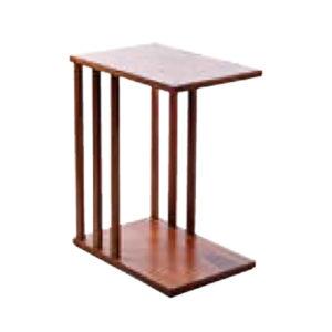 side table Luna noce