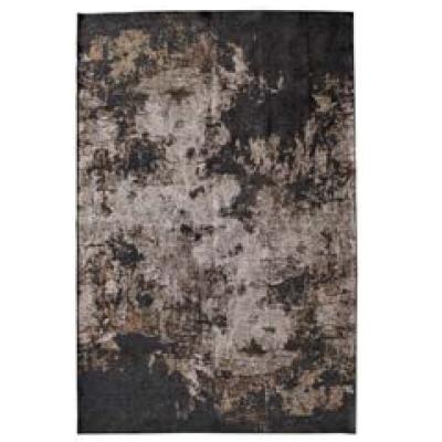 tappeto lavorato nero