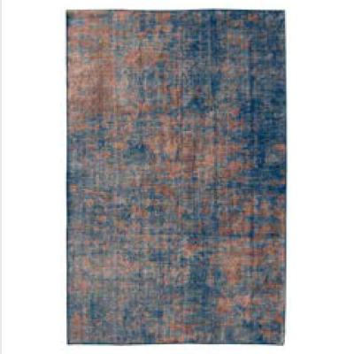 tappeto retro blu